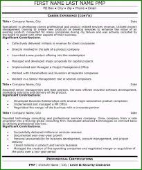 Senior Executive Resume Examples 39 Things For 2019