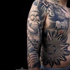 Aztec Tattoo Patterns Beauteous 48 Best Aztec Tattoo Designs For Men Wild Tattoo Art