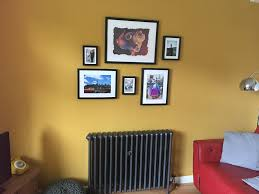 Living Room Feature Wall In Wickes Lions