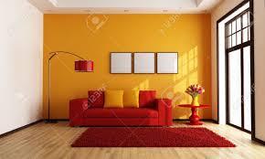 Orange Living Room Modern Orange Living Room Vatanaskicom 17 May 17 165440