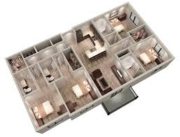 four bedroom apartment. the quad a \u2013 4 bedroom bath 1626 square feet four apartment