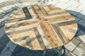 round plywood table top awesome round wood patio table plans pallet wood table tops round inside