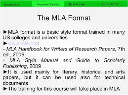 Mla Format Standards Magdalene Project Org