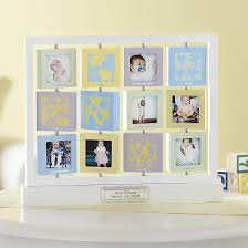 baby s first year frame birthday gift