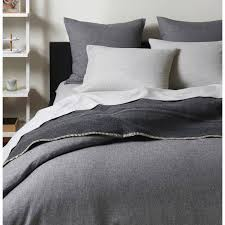 unison flannel graphite duvet covers 165 liked on polyvore featuring home bed