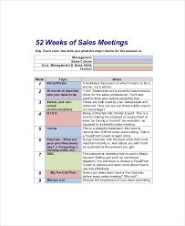 sales calling plan template sales meeting agenda template 11 free word pdf documents