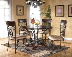 exquisite round kitchen table sets with marble surface elegant dining furniture set w