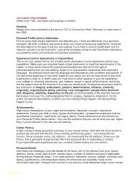 Examples Of Personal Profiles For Resumes Effective Resumes Samples ...