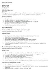 Lpn Resume Templates Extraordinary Lpn Resume Sample New Graduate Grad Family Nurse Practitioner Cover