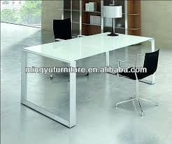 office table buy. Glass Office Table Tempered Frame Powder Coated Finish Buy Top .