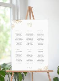 Seating Charts By Paperlust Customise And Print Online