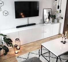 Wohnzimmer Ikea Kerzenschein Skandinavisch Couch