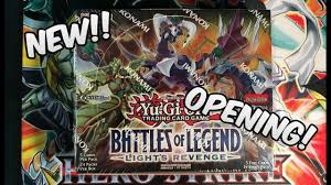 Battles Of Legend Light S Revenge Yugioh Battles Of Legend Lights Revenge Booster Box Opening Epic
