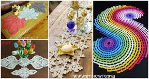 Free Crochet Table Runner Patterns Extraordinary Crochet Table Runner Free Patterns Tutorials