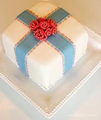 Simple Girly Birthday Cake