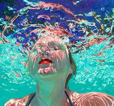 underwater oil paintings figurative archival giclee prints new york artist minnesota artist contemporary