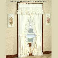 priscilla curtains criss cross vintage white self sheering country farmhouse