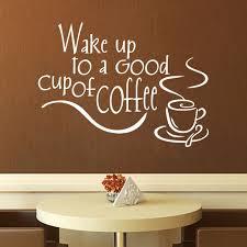 Coffee Kitchen Theme Decor Aliexpresscom Buy Coffee Shop Lettter Home Decor Muursticker