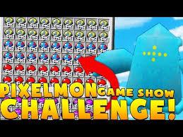 Pixelmon Vending Machine Inspiration Minecraft PIXELMON GAME SHOW MINIGAME CHALLENGE Pokemon Modded