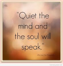 Mind Quotes Magnificent Quiet Mind Quote