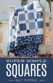 Best 25+ Blue quilts ideas on Pinterest | Quilt patterns, Baby ... & New Friday Tutorial: The Super Simple Squares Quilt (The Cutting Table Quilt  Blog). Gingham QuiltWhite QuiltsBlue ... Adamdwight.com