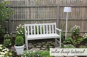 diy garden lighting ideas. Solar Outdoor Lamp Diy Garden Lighting Ideas