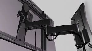 remarkable ge full motion flat screen tv wall mount instructions photo inspiration
