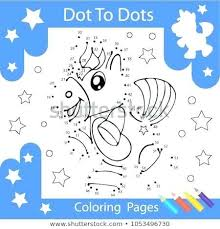 Connect The Dots Of A Unicorn Activity Connectthedots Amatcardco