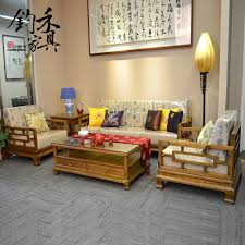 get quotations new chinese wood sofa combination sofa five sets of old elm wood antique elm wood antique