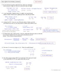 systems equations word problems answers best ideas trigonometry worksheets with for your summary ravishing systems equations