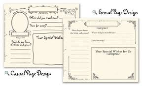 printable guest book pages