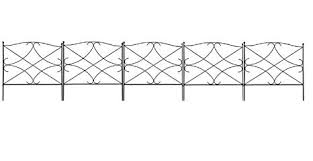 decorative wire garden fence. Amagabeli Decorative Garden Fence 24in X 10ft Outdoor Rustproof Metal  Landscape Wire Fencing Folding Patio Decorative Wire Garden Fence M
