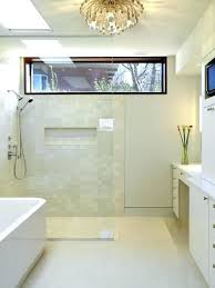 walk in shower with window contemporary walk in shower idea with a  freestanding window dressing ideas