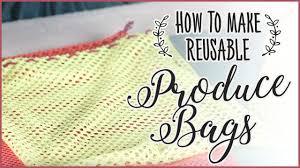 How to Make a Reusable <b>Drawstring</b> Produce <b>Bag</b> - YouTube