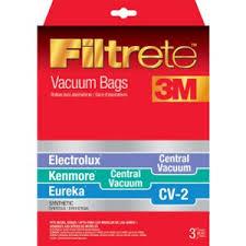 kenmore vacuum bags. eureka cv-2 vacuum bags / kenmore central 6-pack r