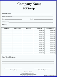 Excel Invoice Format 15 Sale Bill Format In Excel Sample Paystub