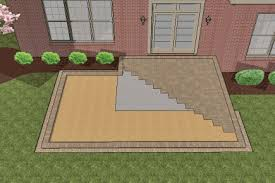 patio pavers over concrete. How To Install Larger Paver Patio Over Smaller Existing Concrete #8 Pavers T