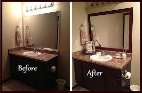 diy bathroom mirror frame. Stick On Frame Adhesive For Bathroom Mirrors And Wall Sayings Inside Borders In Bathrooms Ideas 18 Diy Mirror
