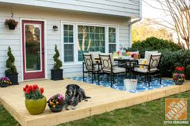 patio deck decorating ideas. Small Patio Decorating Ideas: A Colorful Backyard With New Deck And Ideas
