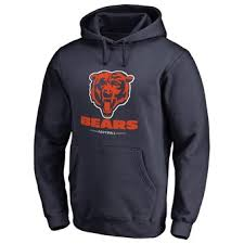 Hoodie Chicago Men's Faith Nfl Pullover Family Navy Bears Line Pro