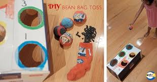 diy bean bag toss by kidz activities