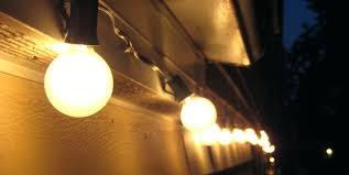 commercial outdoor string lights led solar white