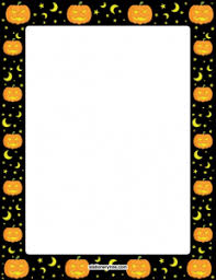 free halloween stationery templates free printable fall thanksgiving borders i have thousands of free