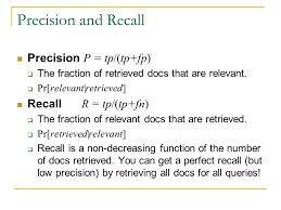 information retrieval lecture introduction to information  12 precision