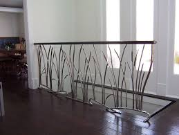 wrought iron indoor furniture. Custom Made Cat Tail And Willow Interior Wrought Iron Railing Indoor Furniture R