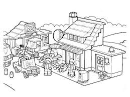 Small Picture Lego City Boats Colouring Pages Lego City Coloring Pages In