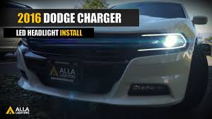 Dodge Charger Lights How To Replace Upgrade 2016 2020 Dodge Charger Led Headlight Bulbs