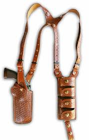vertical double shoulder and quad carrier shoulder holster basket wave