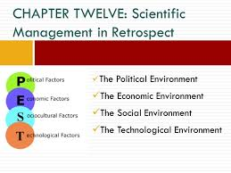 The Political Environment The Economic Environment The