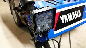 yamaha snowblower fan club let there be light ys624 light